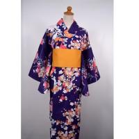 Kimono Yukata Wanita Trasidional Jepang 304