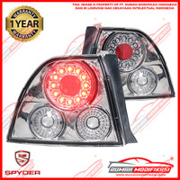 STOP LAMP - HONDA ACCORD CIELO 1994-1995 - ALTEZZA - CHROME - LED