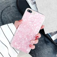 Pink Crystal Marble Case Xiaomi Redmi Note 3 4 4X 6 Pro Softcase Bling