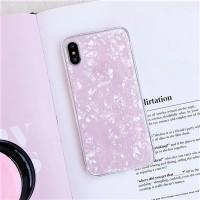 Pink Crystal Marble Case Samsung J2 J4 J6 Plus J5 J7 Pro Prime Bling