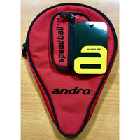 Cover Bat Tenis Meja Andro Red Black