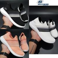 Sepatu Wanita Skechers/ Skecher/ Sketchers Ultra Flex Brightfull