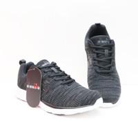 Sepatu Sneaker Sport Shoes Diadora Savero Black Original Amigo - 39