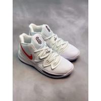7b5d65267f38 Nike Kyrie Irving 5 Uconn Huskies White Perfect Kick Original PK