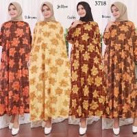 Baju Gamis Wanita Gamis Jumbo 4L Gamis Kaos Import 3718