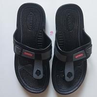 Sandal Jepit Pria Sendal Karet Laki Laki Keren Cowok Awet Tahan Air