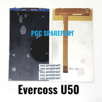 Original OEM LCD Evercoss U50 - Cross Evercross LCD SAJA