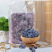 Fresh Frozen 100% Seedless Blueberry Puree / Jus Blueberry Beku 1 Kg
