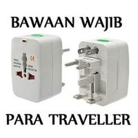 Universal Travel Adaptor Colokan Steker Listrik International plug set