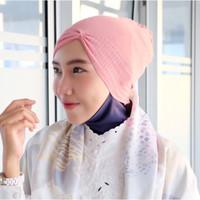 Ciput KERUT Bandana Rajut Knit Inner Jilbab murah Scarf hijab pashmina