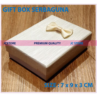 GIFT BOX MINI CREAM COVER KUNCI KEYRING CINCIN KALUNG GIFT BOX JEWELRY