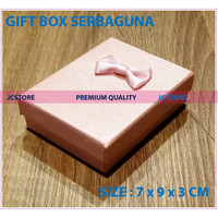 GIFT BOX MINI PINK COVER KUNCI KEYRING CINCIN KALUNG GIFT BOX JEWELRY