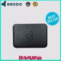 Dompet Pria Aksesoris Pria Tapper Card BRODO Wallet Black