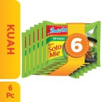 6 Pcs - Indomie Kuah Soto Mie