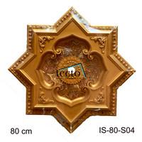 Hiasan Plafon 80 cm IS 80 S04 Lamplate-Dome plafon