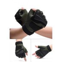 Sarung Tangan Motor Military Tactical Half Glove Black Eagle Army