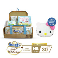 Sweety Gold Comfort Birth Package NB Free Selimut Hello Kitty