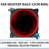 ak Fan Segotep HALO - 12CM RING Fan - RED LED - Original