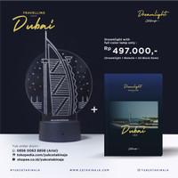 DreamLight Travelling Season Dubai + A5 Block Note