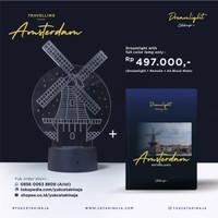 DreamLight Travelling Season Amsterdam + A5 Block Note