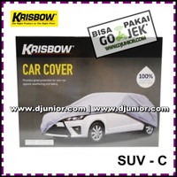 KRISBOW - CAR COVER SUV C / SARUNG PENUTUP MOBIL SUV-C / CARCOVER