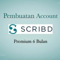 Pembuatan Account Scribd Premium 6 bulan Legal
