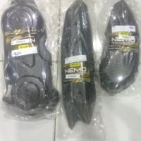 Paket murah aerox Lexi Carbon 3Itam Cvt Hawa Cover Knalpot