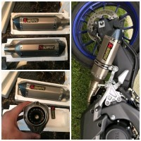 Knalpot Akrapovic Import Full System R15 V3 v2 CBR 150 GSX Vixion