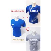 Baju Kaos Branded Distro Spandex AHHA