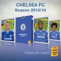Kartu Bola Fezballer Cards edisi team CHELSEA FC - season 2013/2014