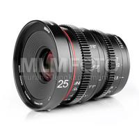 MEIKE 25MM T/2.2 WIDE CINE LENS SONY E-MOUNT NEX VIDEO LENS T2.2 APSC