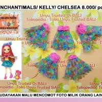 Baju Jubah Ori Mattel Boneka Enchantimals /Kelly/Chelsea (ADIK BARBIE)