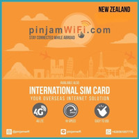 Sim Card New Zealand Unlimited FUP 3 GB for 30 Days