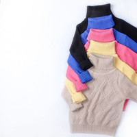 Hello Michi Knitwear Vafle / sweater anak / jaket anak perempuan