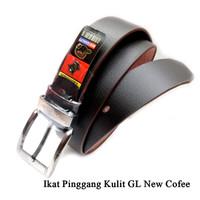 Leather Belt Jarum GL Kulit COFFEE