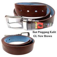 Leather Belt Jarum GL Kulit BROWN