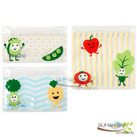 Dr Brown's Tummy Grumbles Reusable Snack Bags - Tempat Snack Bayi