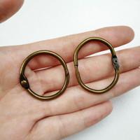 Metal Clasp O Ring Buka Tutup Kaitan Gantungan Kunci BHN31