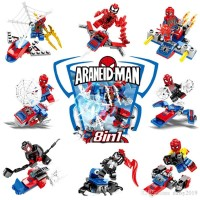 Spiderman Minifigure Super Hero lego Avengers Marvel 1272