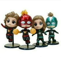 Captain Marvel Cosbaby Figure Super Hero End Game Avengers