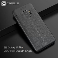 CAFELE Samsung S9 Plus - Dermatoglyph Leather Ultra Thin Softcase