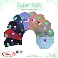 Sorex Celana Dalam Super Soft 1257