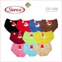 Sorex 1230 celana dalam Midi Polos
