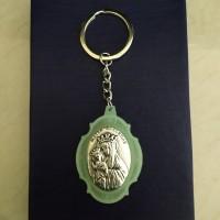 Gantungan Kunci Medali Fosfor Matter Ecclesiae