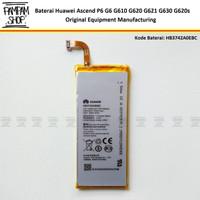 Baterai Huawei Ascend P6 G6 G610 G620 G621 G630 G620s HB3742A0EBC Ori