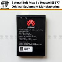 Baterai Modem Bolt Max 2 Huawei E5577 TEBAL HB824666RBC Batre Batrai