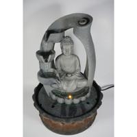 Artificial Fountain Rock Budha