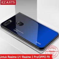 Oppo F9 F9 Pro Realme 2 Pro Realme U1 Hard Case Tipis Anti Gores Grada