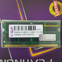 SOqDIMM DDR3 8GB PC-12800/1600 Mhz RAM Laptop/Notebook V-GeN PLATINUM