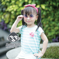 Kacamata Anak Monkeysee Boboho Anti UV - Rose Gold